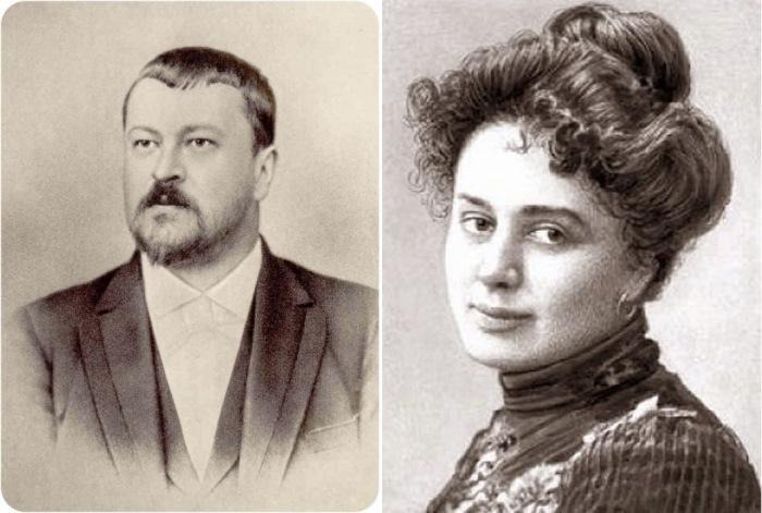 Савва Морозов и Мария Андреева
