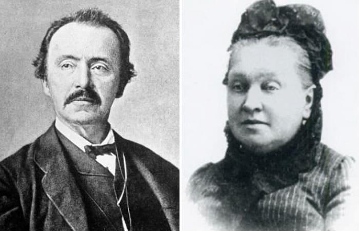 Генрих Шлиман и Екатерина Лыжина | Фото: izbrannoe.com