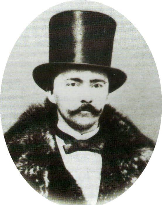 Самая ранняя из сохранившихся фотографий Генриха Шлимана, ок. 1861 г. | Фото: aif.ru