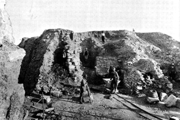 Раскопки в Трое, лето 1890 г. | Фото: aif.ru