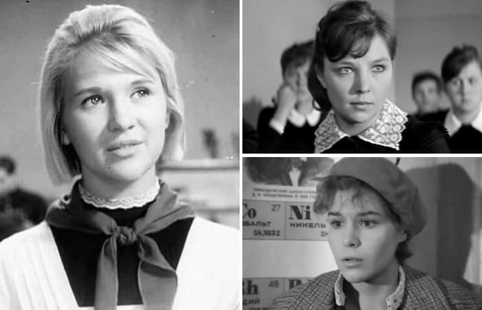Советские актрисы, сыгравшие школьниц после 20 лет | Фото: kino-teatr.ru, stories-of-success.ru