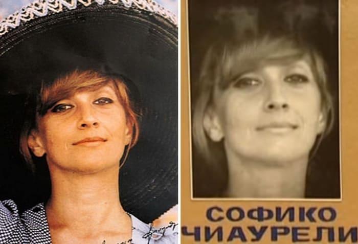 Календарь, с которого пересняли портрет актрисы для фотопроб | Фото: dubikvit.livejournal.com