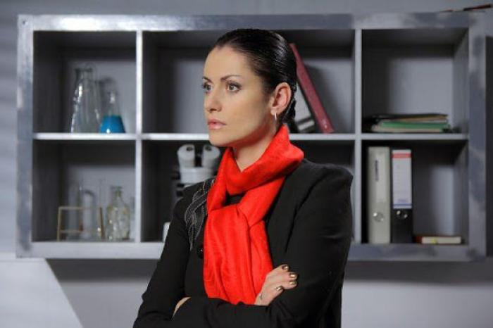 Актриса в роли Марии Швецовой | Фото: baskinogo.ru