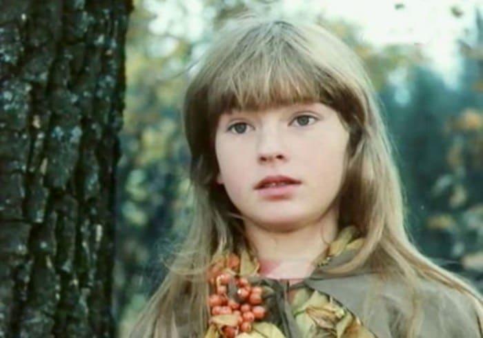 Нина Гомиашвили в роли Герды | Фото: kino-teatr.ru