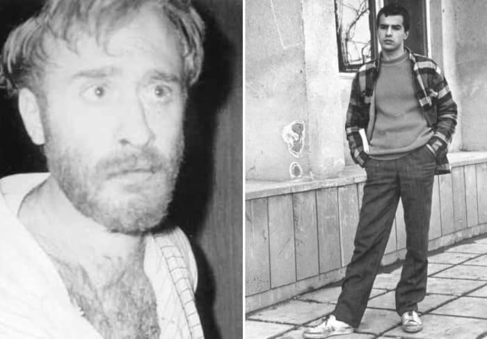 Слева – лидер группы террористов, художник киностудии *Грузия-фильм* Иосиф Церетели. Справа – Гега Кобахидзе | Фото: pikabu.ru