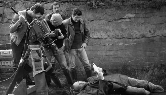 Режиссер Андрей Тарковский на съемках фильма *Сталкер*   Фото: tvkinoradio.ru