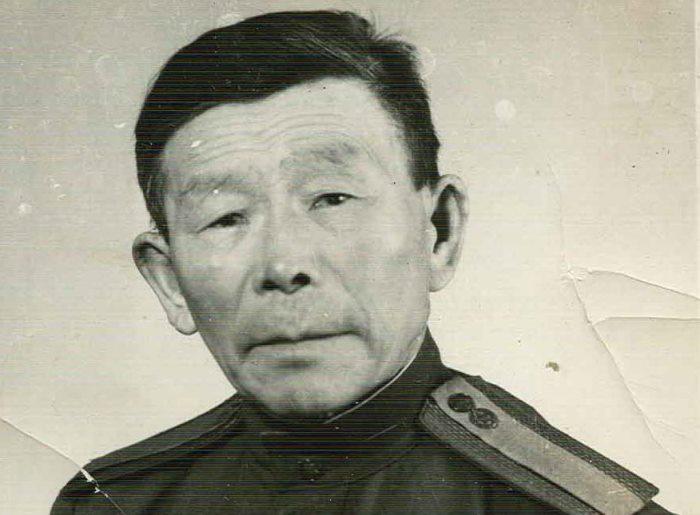 Почетный солдат Забайкальского военного округа С. Д. Номоконов | Фото: edikst.ru
