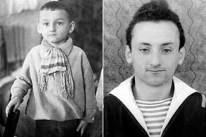 Семен Фарада в детстве и в юности | Фото: 24smi.org