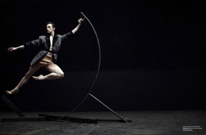 Сергей Полунин в фотосессии для журнала Numero Homme