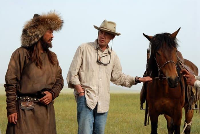 Сергей Бодров-старший на съемках фильма *Монгол* | Фото: 24smi.org