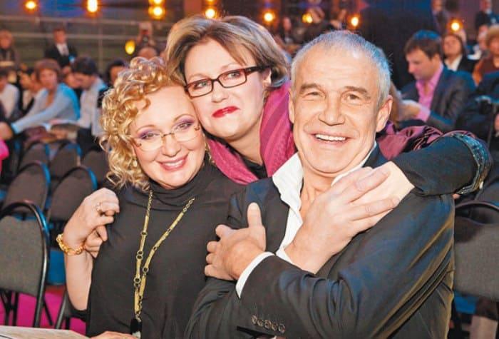 Сергей Гармаш с женой Инной и актрисой Ириной Розановой | Фото: tele.ru