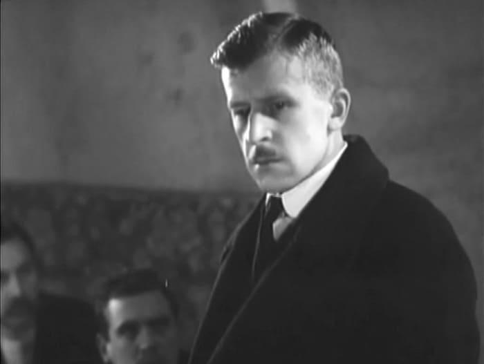 Сергей Мартинсон в фильме *Две встречи*, 1932 | Фото: kino-teatr.ru