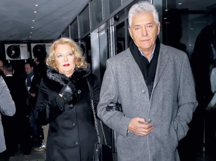 Актер, кинорежиссер, сценарист Сергей Мартынов и его жена Ирина Алферова | Фото: pic-words.com