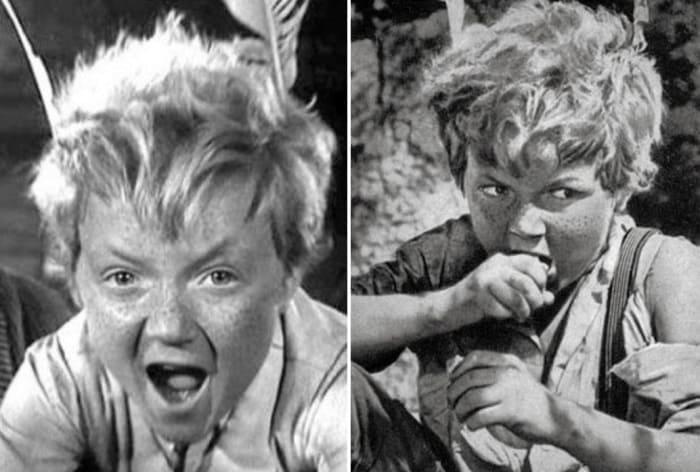 Сережа Тихонов в фильме *Деловые люди*, 1962 | Фото: kino-teatr.ru, chtoby-pomnili.com