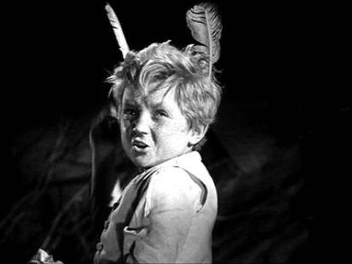 Сережа Тихонов в фильме *Деловые люди*, 1962 | Фото: kino-teatr.ru