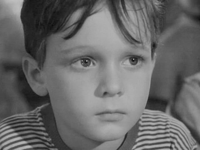 Сережа Остапенко в фильме *Военная тайна*, 1958 | Фото: kino-teatr.ru
