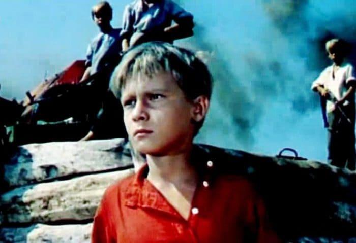 Сережа Остапенко в *Сказке о Мальчише-Кибальчише*, 1964 | Фото: nashiusa.com