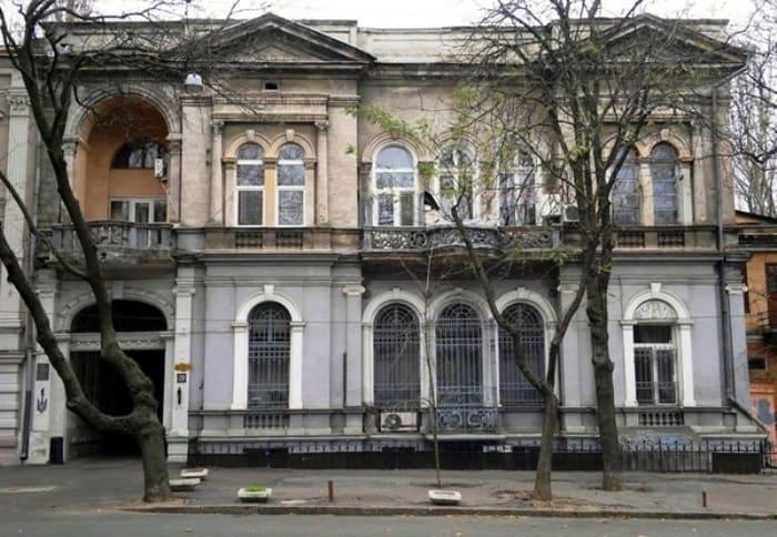 Дом в Одессе, где жила семья Панкеевых | Фото: fakty.ua