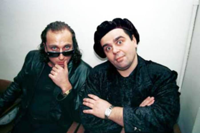Дмитрий Нагиев и Сергей Рост   Фото: starhit.ru