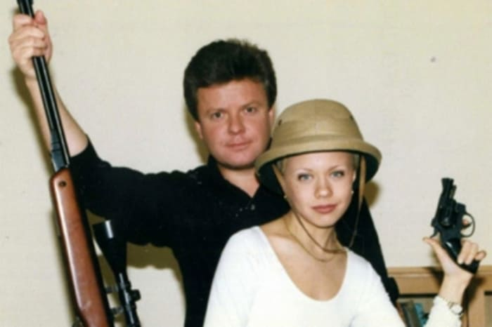 Сергей Супонев с сестрой, Еленой Перовой | Фото: kino-teatr.ru