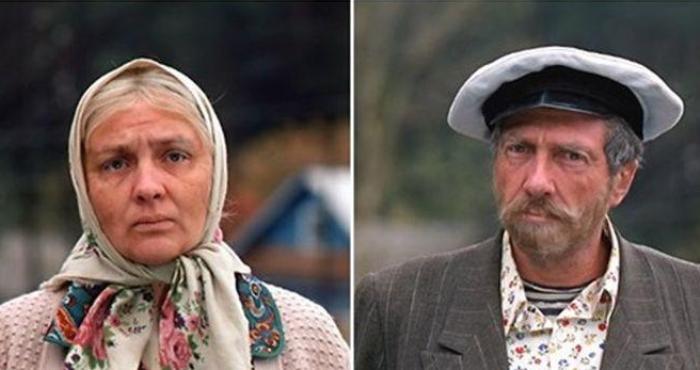 Сергей Юрский и Наталья Тенякова в фильме *Любовь и голуби*, 1984 | Фото: bigpicture.ru