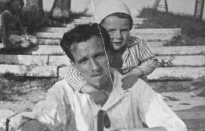 Сергей Юрский с отцом | Фото: kino-teatr.ru