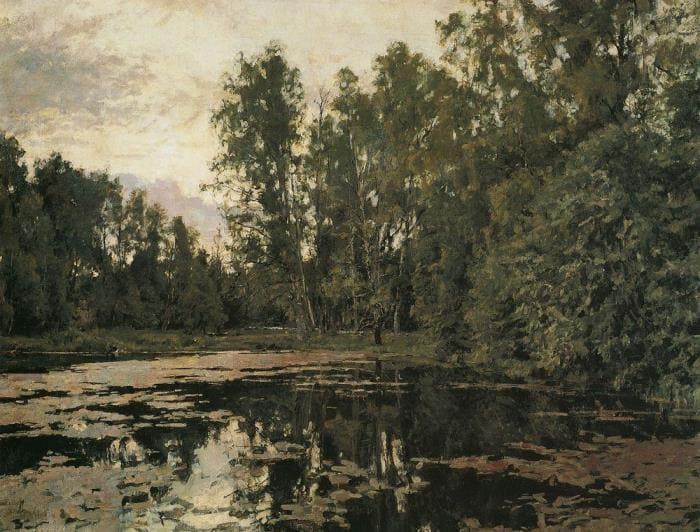 В. Серов. Заросший пруд. Домотканово, 1888 | Фото: artscroll.ru