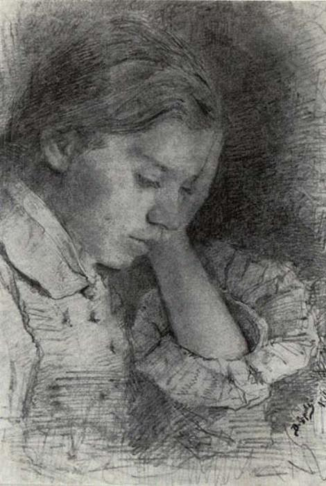 В. Серов. Мария Яковлевна Симонович, 1879 | Фото: rulex.ru