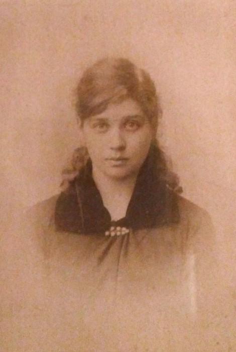 Мария Симонович, фото 1884 г.