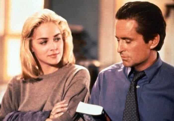 Кадр из фильма *Основной инстинкт*, 1992 | Фото: vev.ru