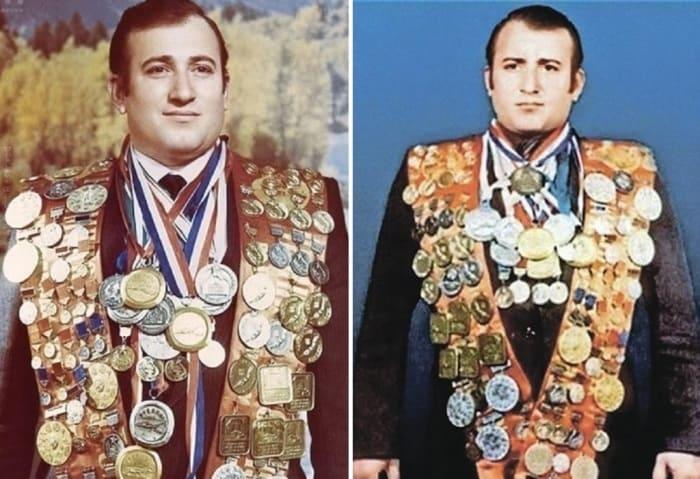 Многократный рекордсмен мира по подводному плаванию Шаварш Карапетян | Фото: newdaynews.ru и thematicnews.com