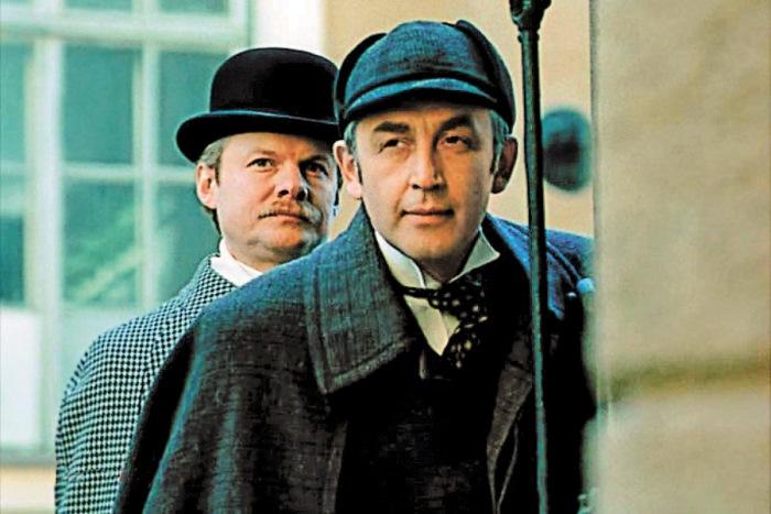 Кадр из фильма *Приключения Шерлока Холмса и доктора Ватсона*, 1979-1986