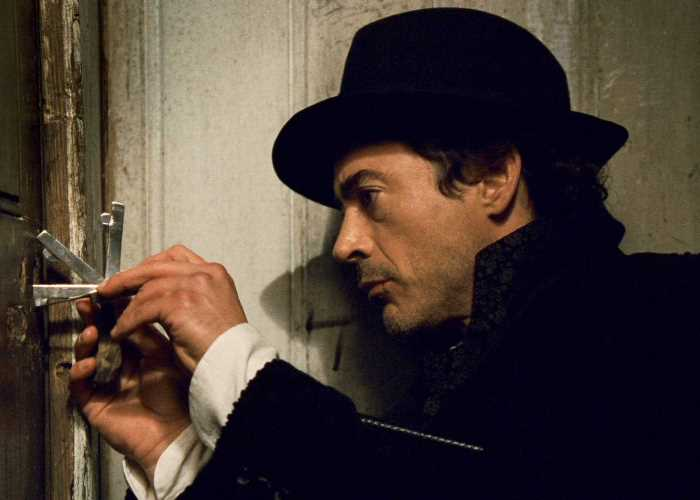 Роберт Дауни мл. в роли Шерлока Холмса, 2009