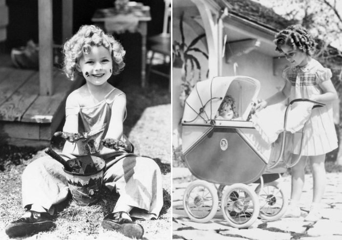 Девочка-кукла 1930-х Ширли Темпл   Фото: liveinternet.ru