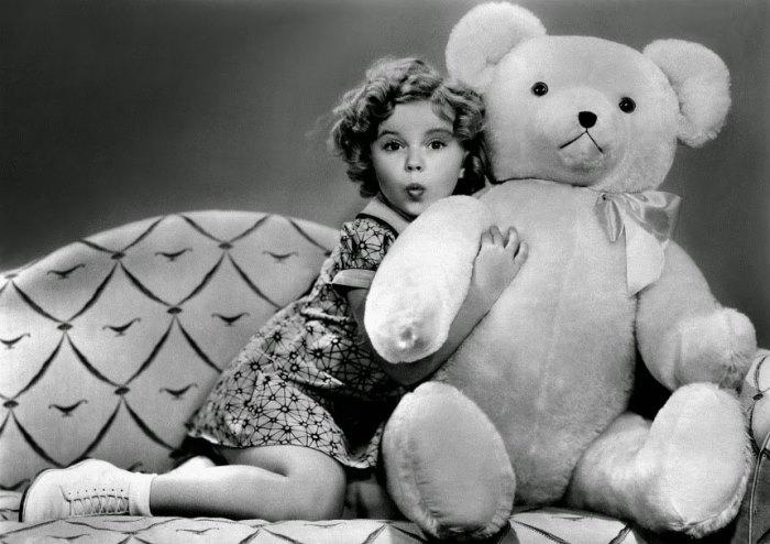 Ширли Темпл получила премию *Оскар* в 6 лет   Фото: foto-history.livejournal.com