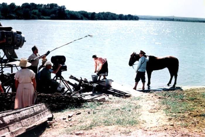 На съемках фильма | Фото: dubikvit.livejournal.com