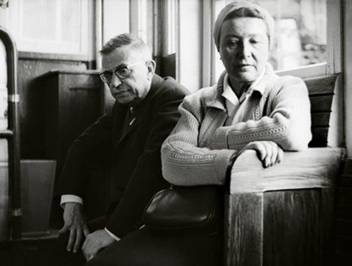 Жан-Поль Сартр и Симона де Бовуар | Фото: heliograph.ru