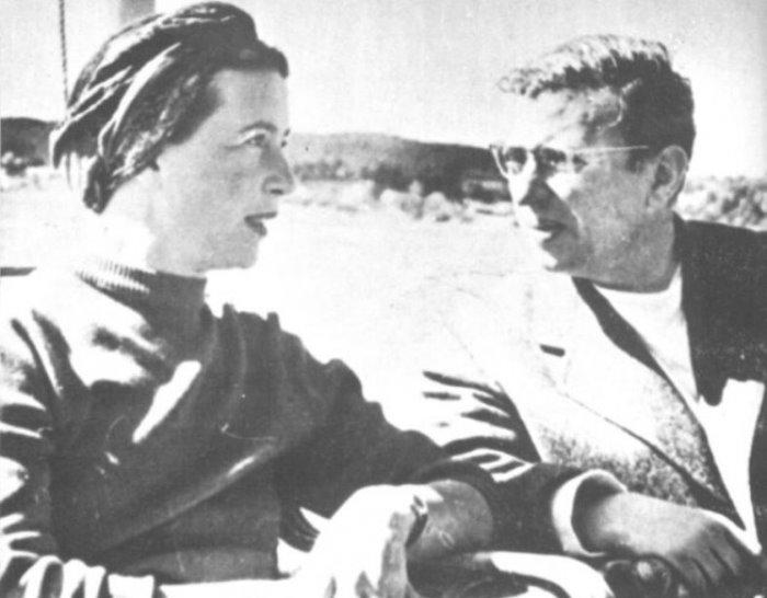 Симона де Бовуар и Жан-Поль Сартр | Фото: liveinternet.ru