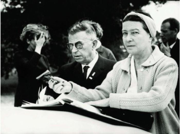 Жан-Поль Сартр и Симона де Бовуар | Фото: people.famouswhy.com