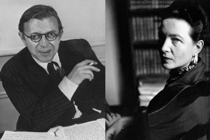 Жан-Поль Сартр и Симона де Бовуар | Фото: picmars.ru и liveinternet.ru