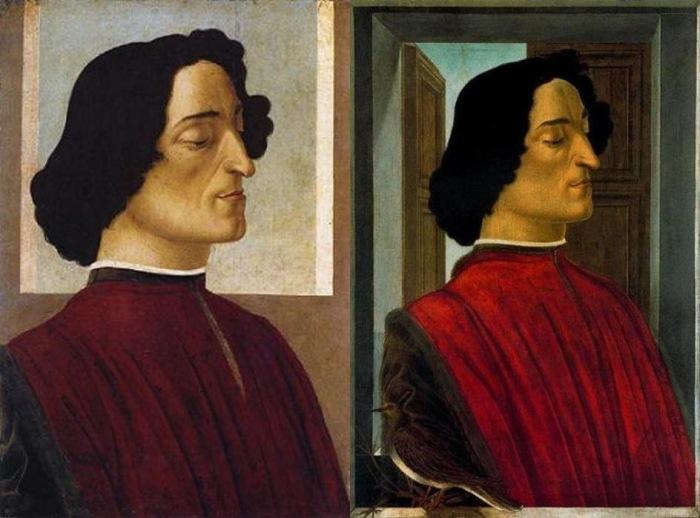 Сандро Боттичелли. Портреты Джулиано Медичи, 1476-78