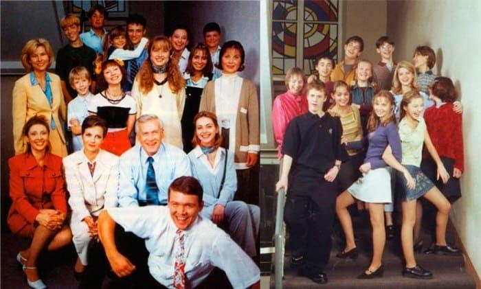 Герои сериала *Простые истины*, 1999-2003 | Фото: peopletalk.ru