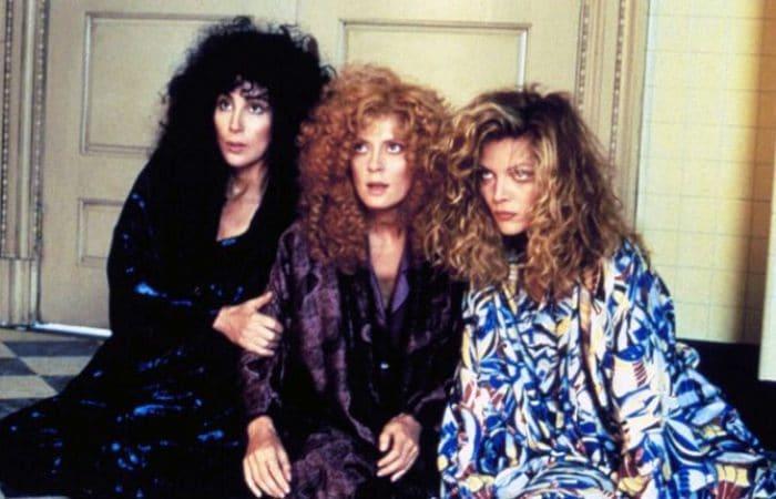 Кадр из фильма *Иствикские ведьмы*, 1987 | Фото: uznayvse.ru