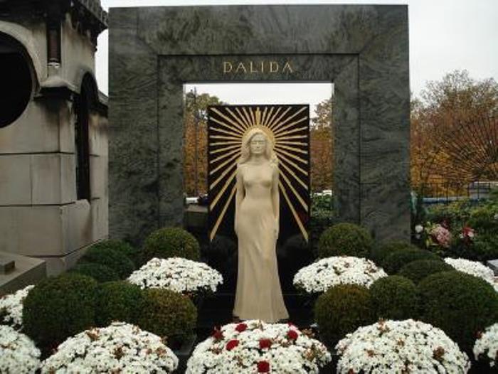 Могила Далиды в Париже | Фото: biography-life.ru