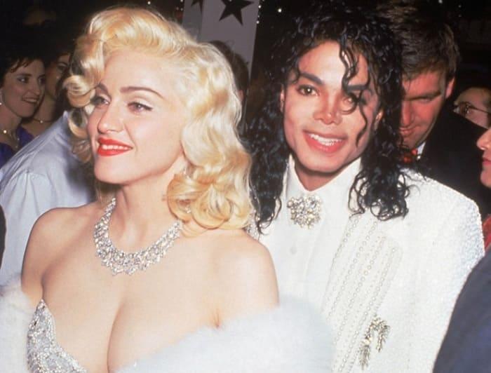 Мадонна и Майкл Джексон, 1991 | Фото: elle.ru