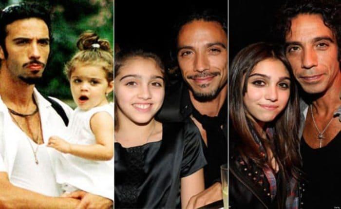 Карлос Леон с дочерью Лурдес | Фото: fancy-journal.com