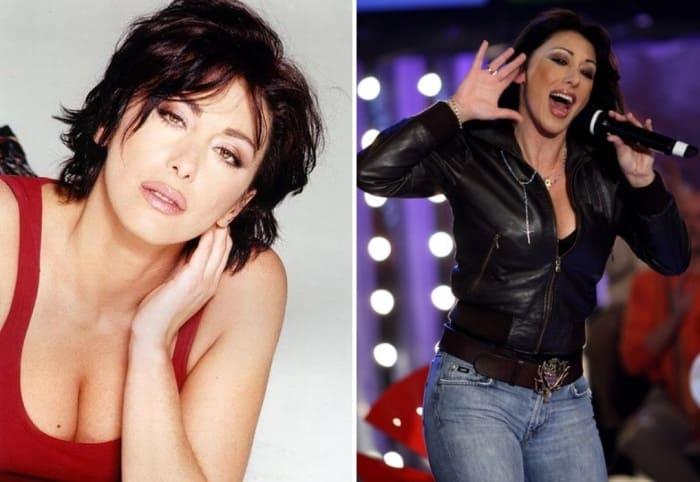 Итальянская певица и телеведущая Сабрина | Фото: wday.ru и kino-teatr.ru