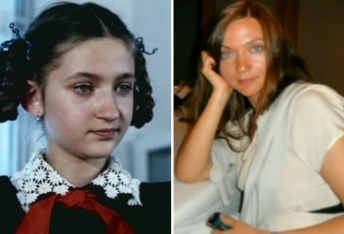 Валерия Солуян тогда и сейчас | Фото: teleprogramma.pro, kino-teatr.ru