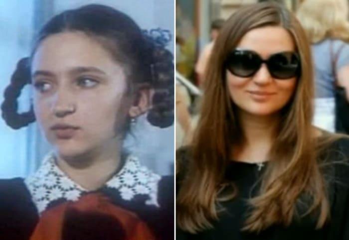 Валерия Солуян тогда и сейчас | Фото: kino-teatr.ru