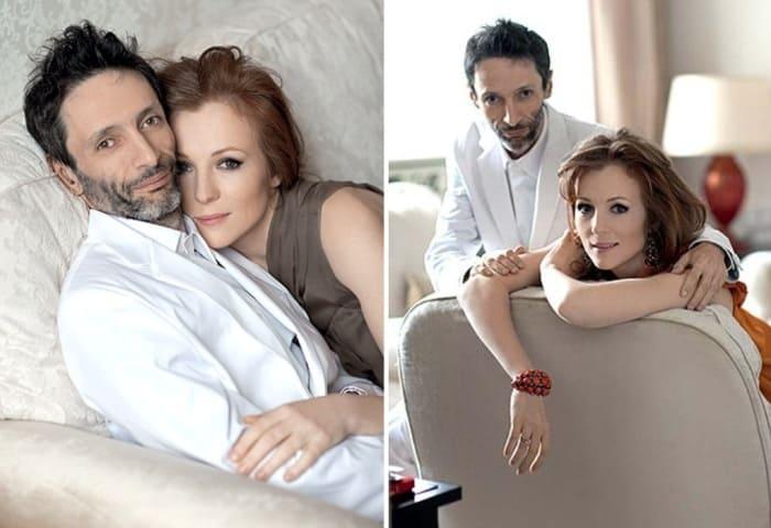 Ксения Кутепова с мужем Сергеем Осипьяном | Фото: stuki-druki.com